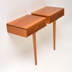 pair of robert heritage archie shine hamilton bedside tables