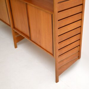Staples Ladderax Bookcase / Cabinet in Teak Vintage 1960's