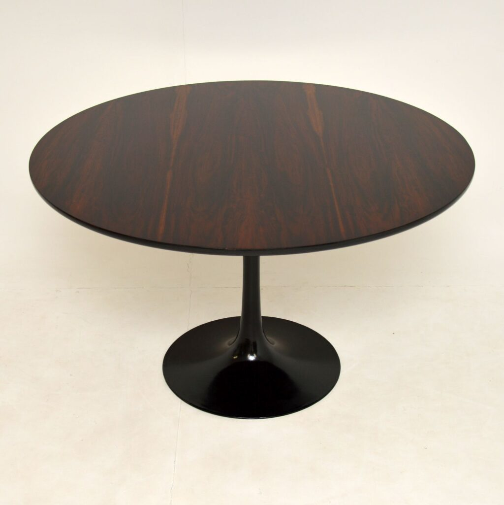 retro vintage rosewood dining table maurice burke arkana