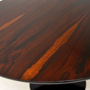 retro vintage rosewood dining table maurice burke arkana