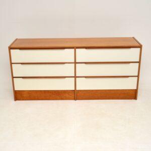 Danish Teak Vintage Chest of Drawers / Sideboard