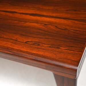 Danish Vintage Rosewood Coffee Table by Illum Wikkelso