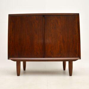 danish rosewood retro vintage side cabinet poul cadovius