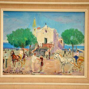 mario cortiello oil painting