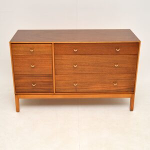 Mahogany & Brass Vintage Sideboard by John & Sylvia Reid for Stag