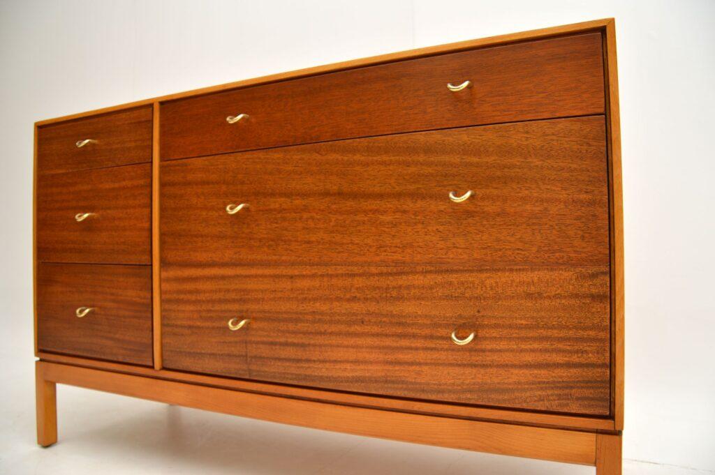 retro vintage mahogany brass sideboard john sylvia reid stag