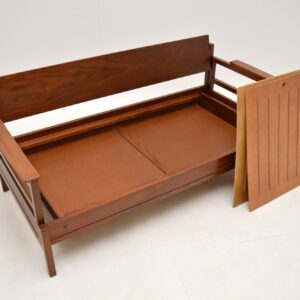 Guy Rogers Gambit Sofa Bed Vintage 1960's