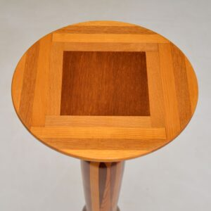 retro vintage inlaid sovereign side table
