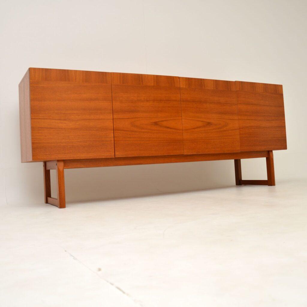 retro vintage danish teak swedish sideboard ib kofod larsen