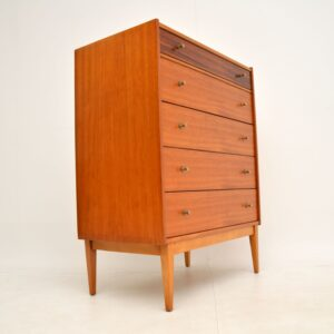 Teak & Rosewood Vintage Chest of Drawers by William Lawrence