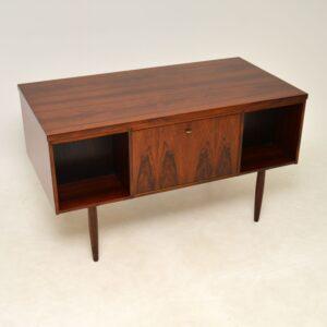 1960's Danish Vintage Rosewood Desk
