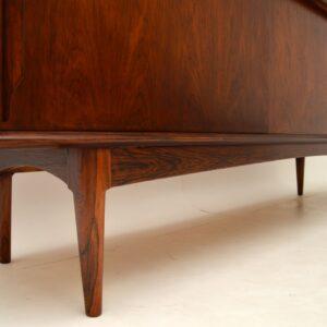 danish rosewood retro vintage sideboard bernhard pedersen