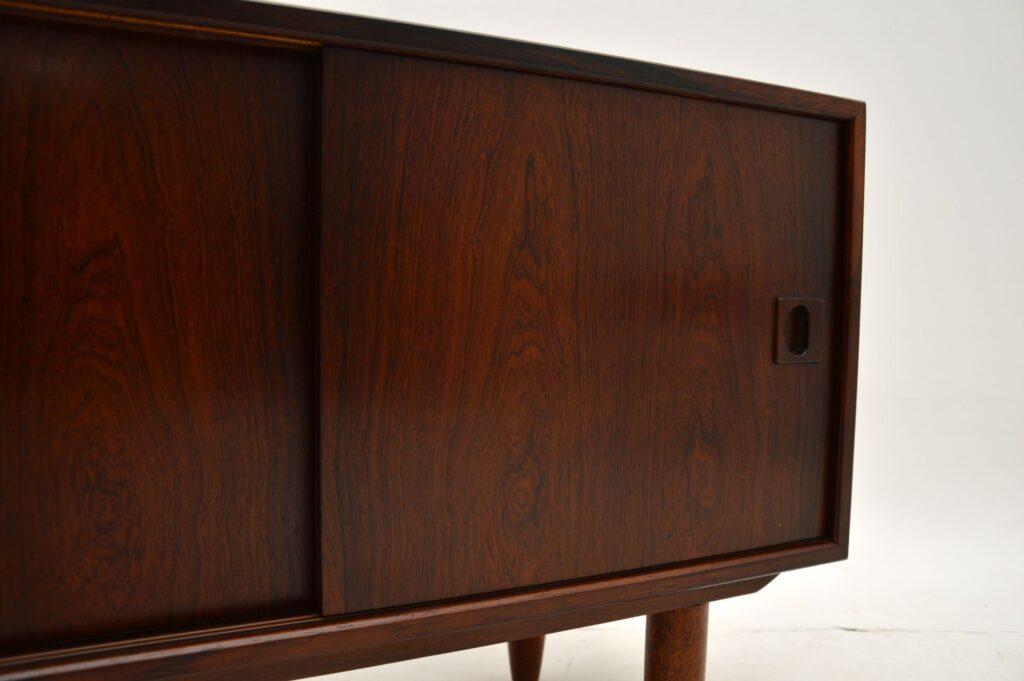 danish retro vintage rosewood ps cabinet sideboard
