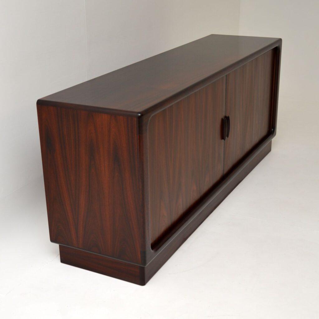 danish retro rosewood sideboard by dyrlund