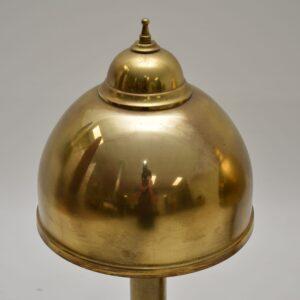 retro vintage brass table lamps