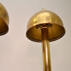 Pair of Vintage Brass Table Lamps