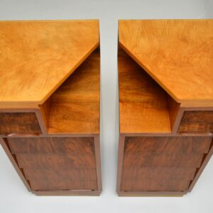 Pair of Vintage 1950's Walnut Bedside Chests
