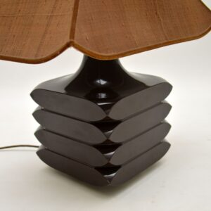 1960's Large Vintage Table Lamp