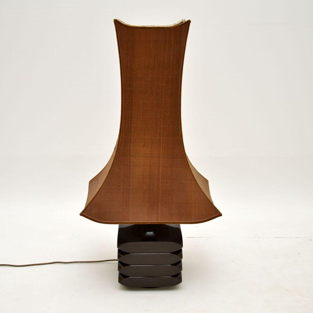 retro vintage 1960's table lamp