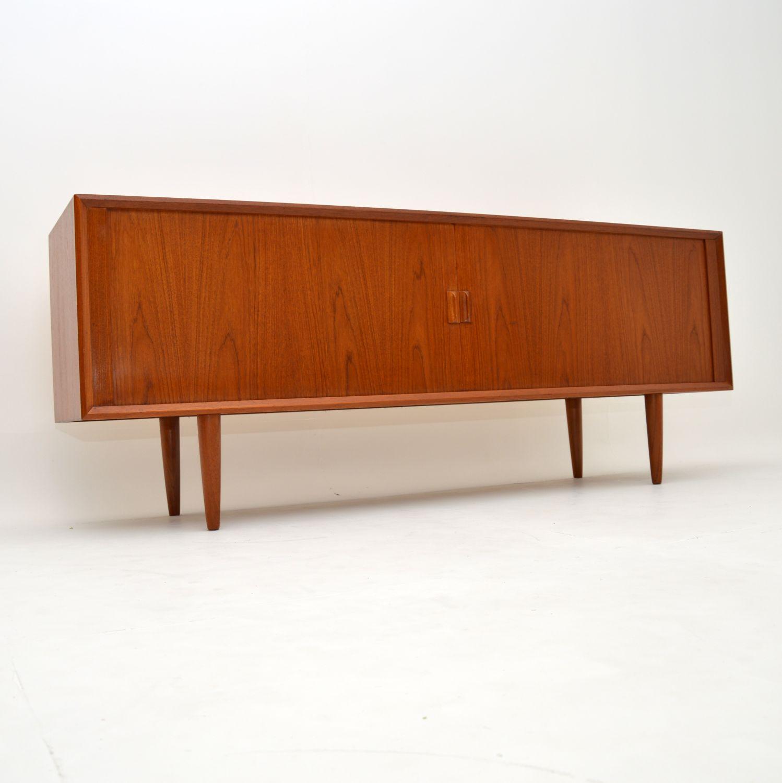 retro teak vintage danish sideboard svend aage larsen