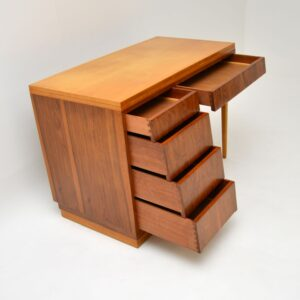 retro vintage walnut desk