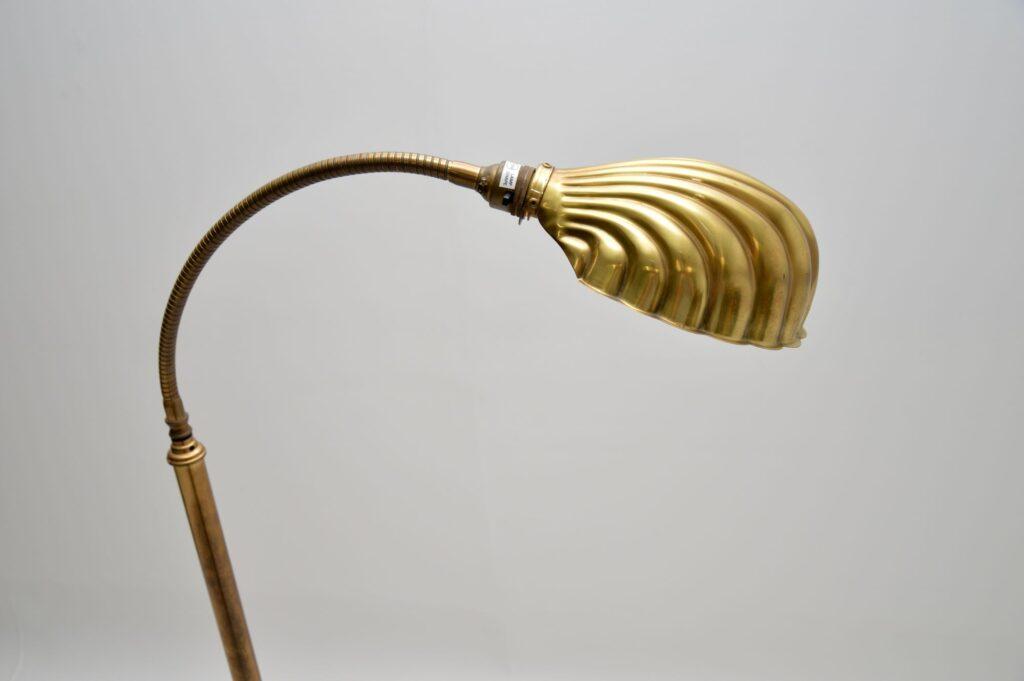 antique retro vintage brass lamp christopher wray