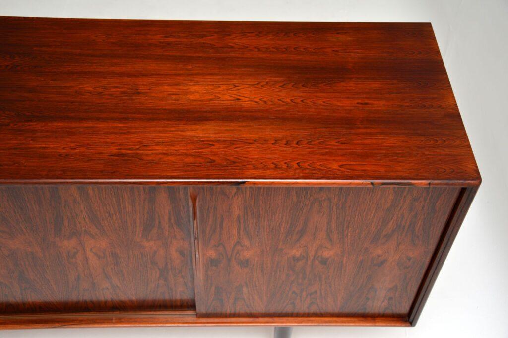 danish retro vintage rosewood sideboard gunni omann axel christensen