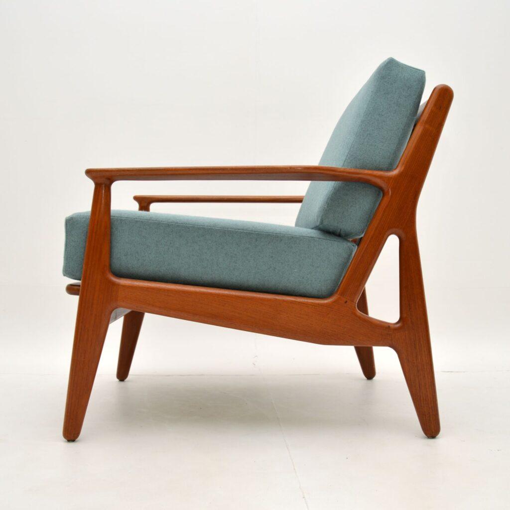 arne vodder danish retro vintage teak armchair