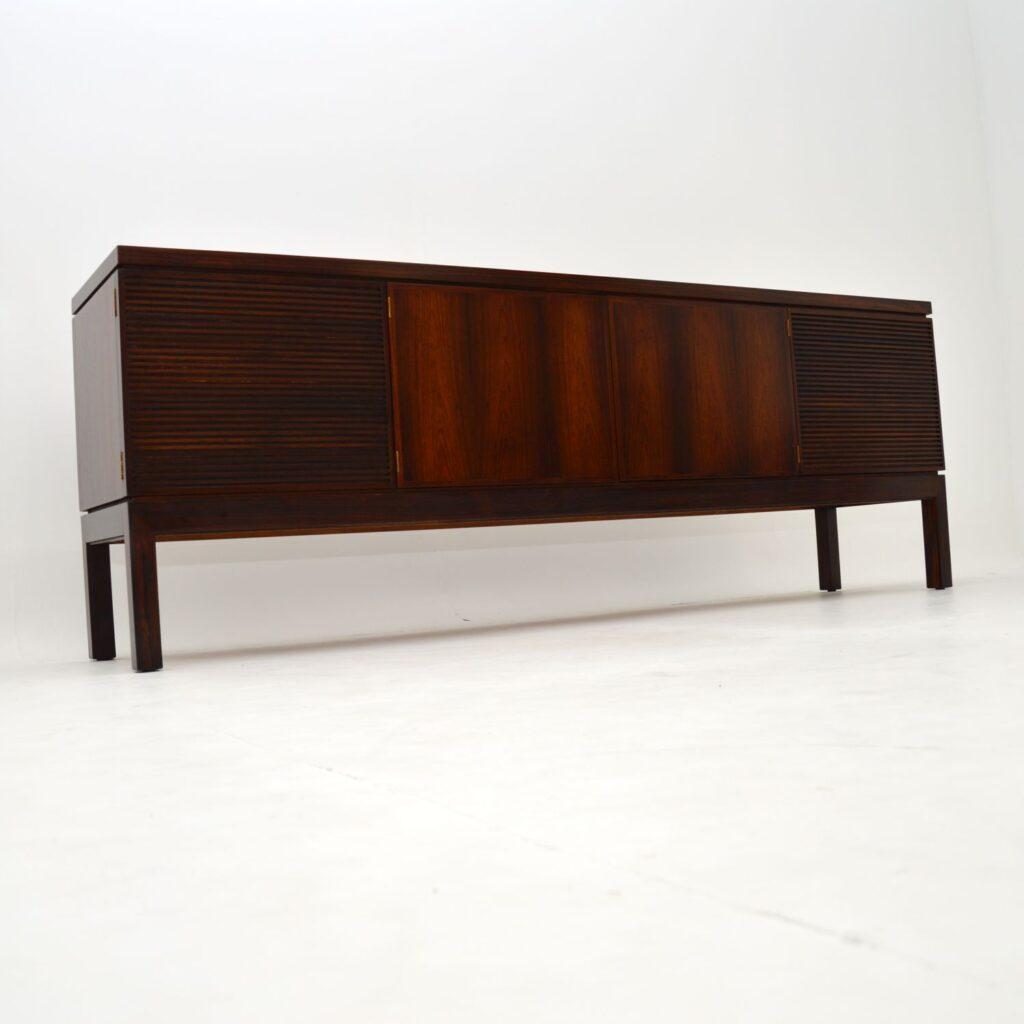 retro vintage rosewood sideboard robert heritage archie shine