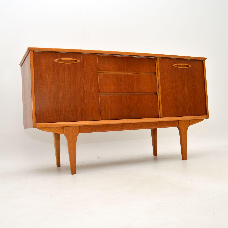 retro vintage danish jentique sideboard