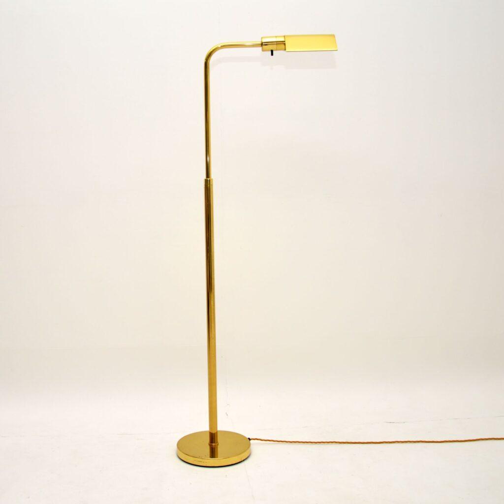 vintage retro spanish brass lamp george hansen metalarte