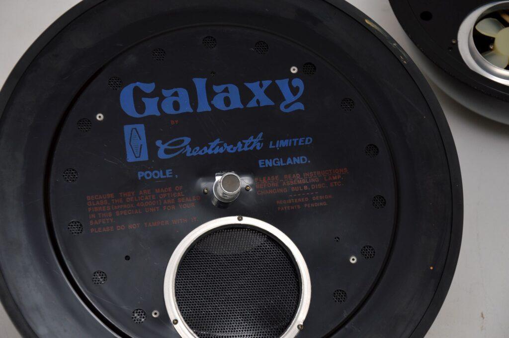 vintage retro fibre optic lamp crestworth galaxy