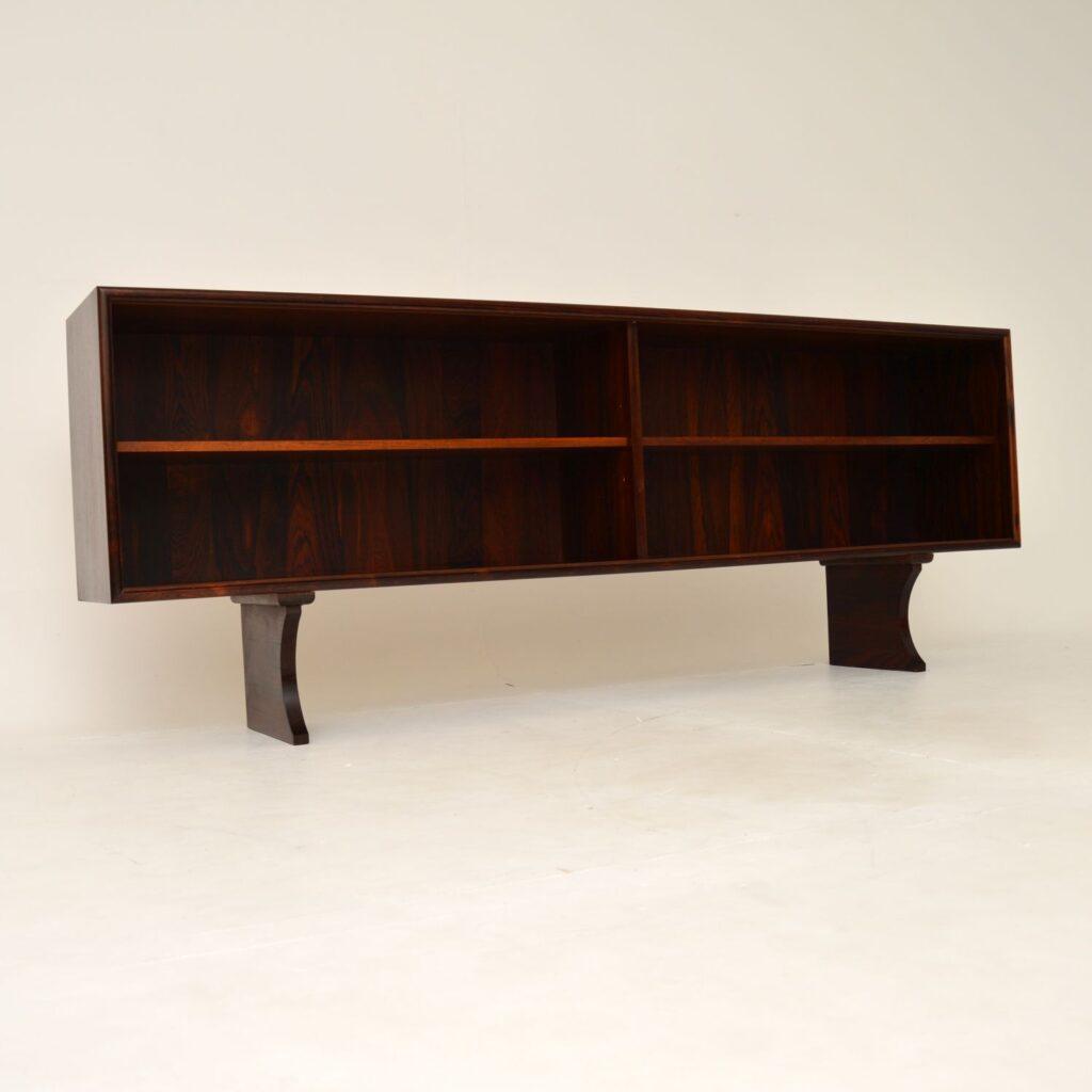 danish rosewood retro vintage sideboard cabinet axel christensen