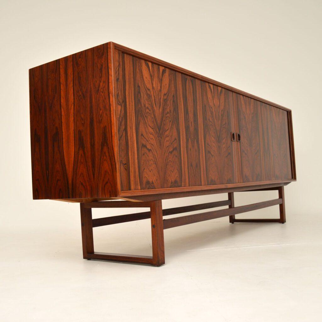 danish retro vintage rosewood sideboard axel christensen