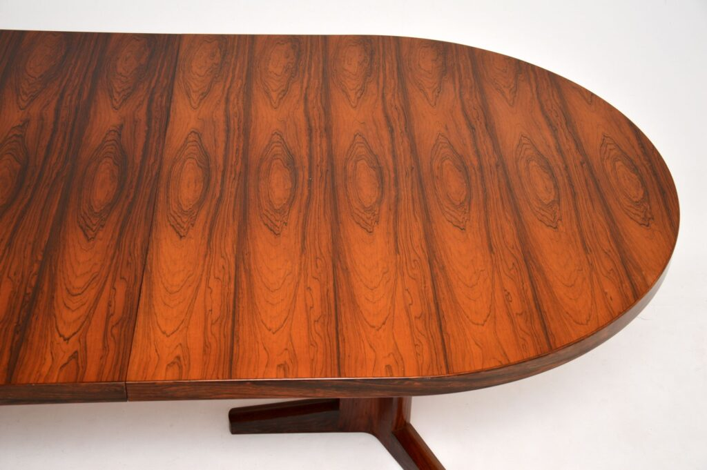 rosewood vintage retro dining table by martin hall for gordon russell