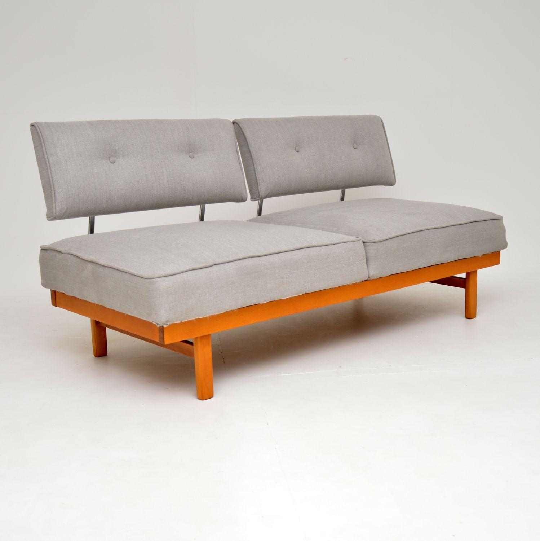 retro vintage german wilhelm knoll sofa bed
