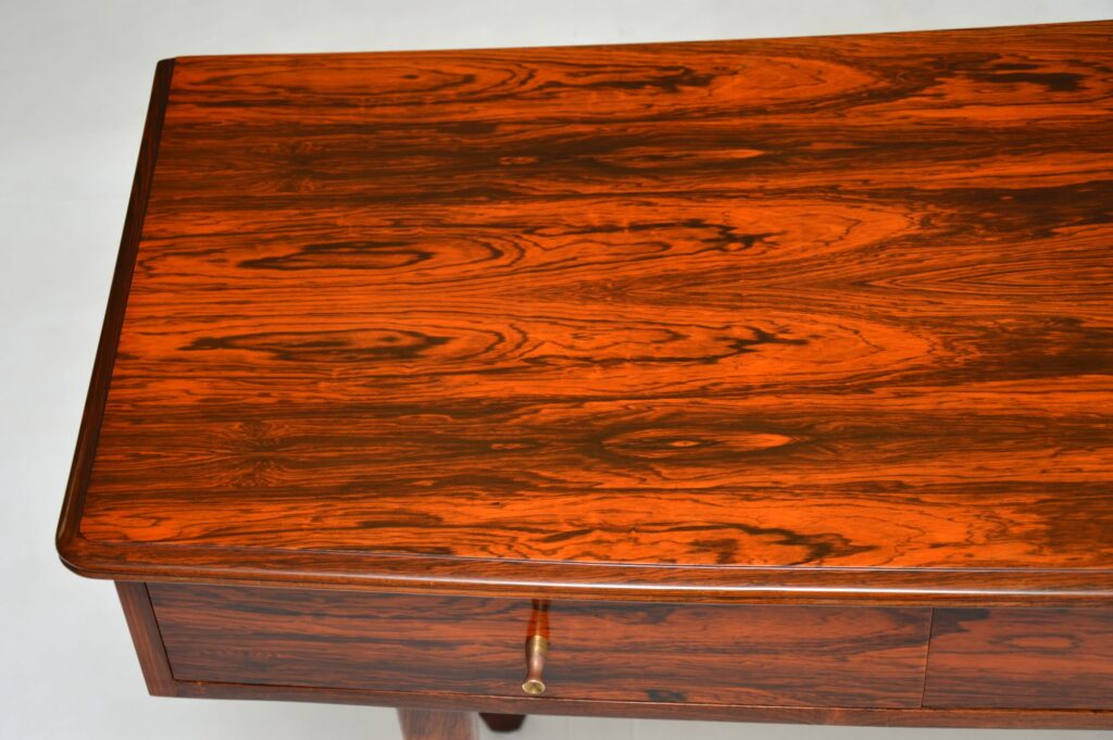andrew aj milne vintage retro rosewood server side console table heals
