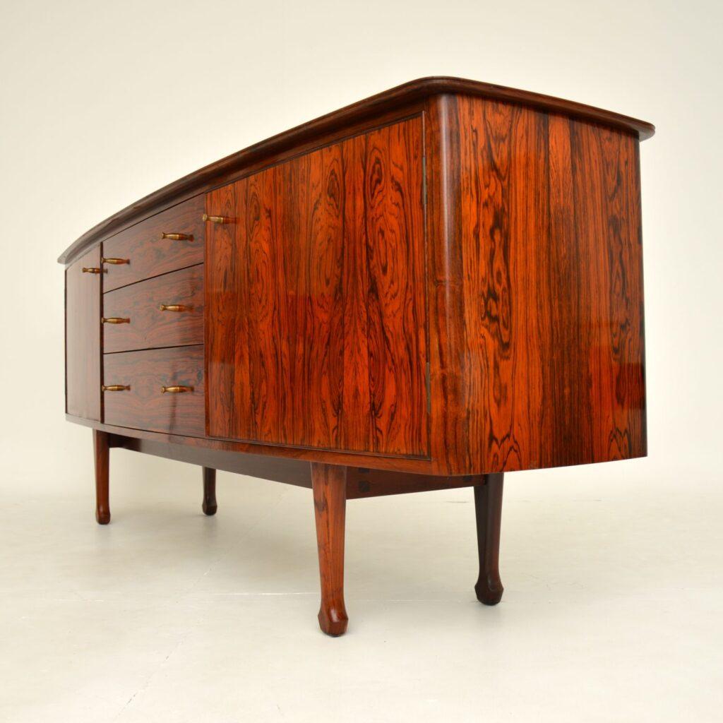 retro vintage rosewood sideboard andrew milne heals